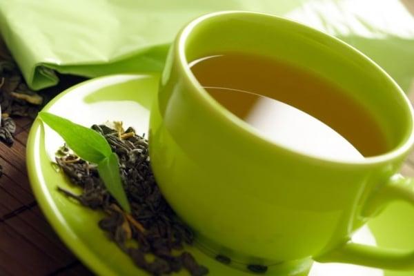 Чай зеленый фото в чашке