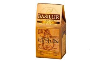 Базилур чай и его ассортимент