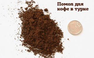 Какой помол кофе лучше для турки?
