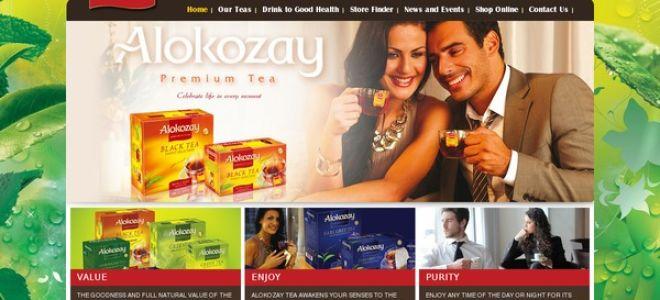 Ассортимент чая Алокозай и его характеристики