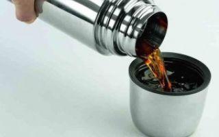 Как правильно заварить чай в термосе