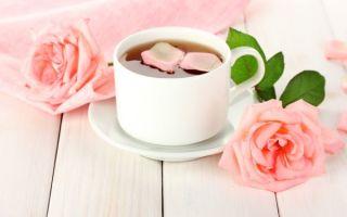 Правила приготовления чая из лепестков розы