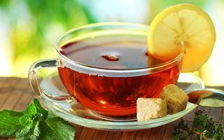 Рецепты черного чая с добавлением лимона