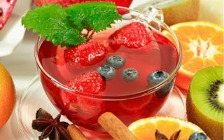 Как заваривать земляничный чай из листьев и ягод