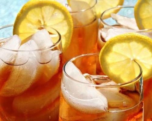 Рецепты чая со льдом