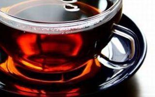 Чем может быть полезен черный крепкий чай