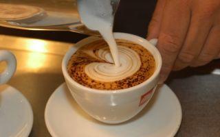 Как рисовать на кофейной пенке?