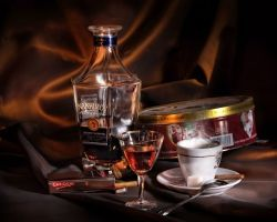 Чай с коньяком — напиток аристократов