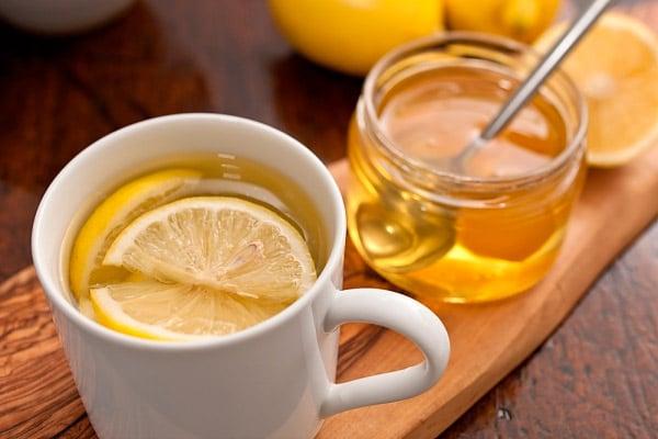 Зеленый чай с лимоном и с медом