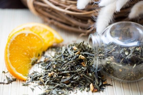 Ароматизированный зеленый чай - Японская липа