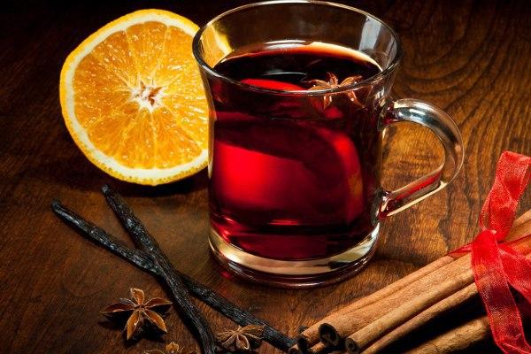 Чай с лимоном