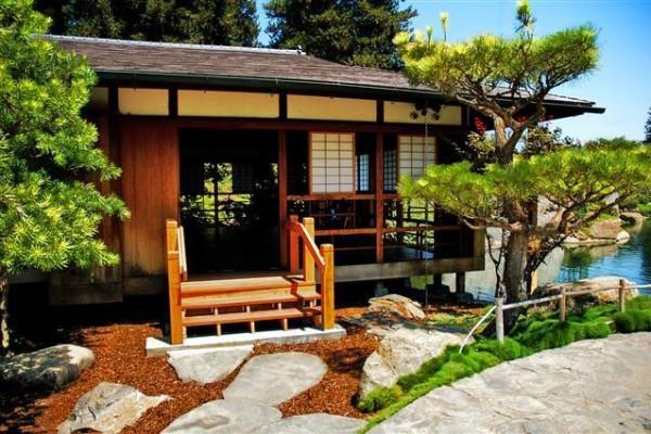 Чайный домик в Японии