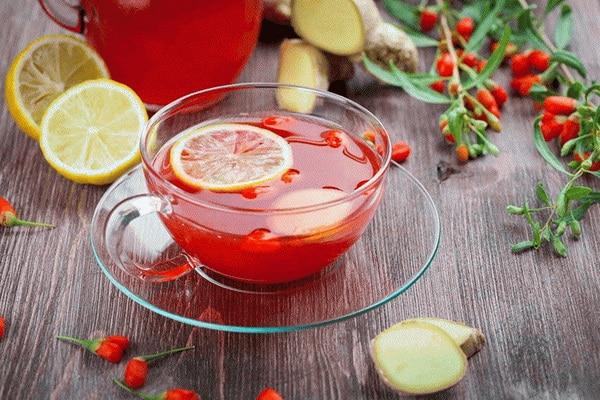 Как заварить ягодный чай