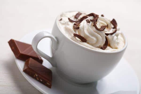 Гляссе с шоколадом