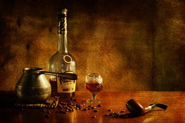 Алкогольный кофейный нипиток