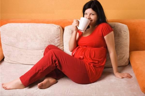 Полезный напиток при беременности
