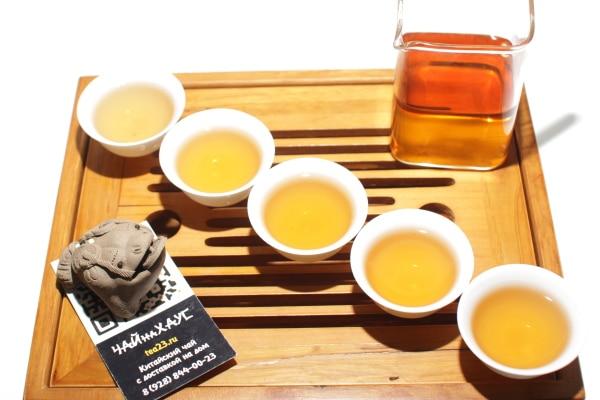 Характеристики чая