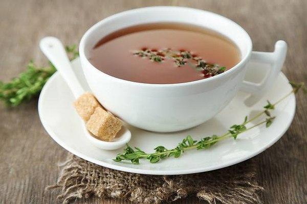 Как заварить черный чай с тимьяном