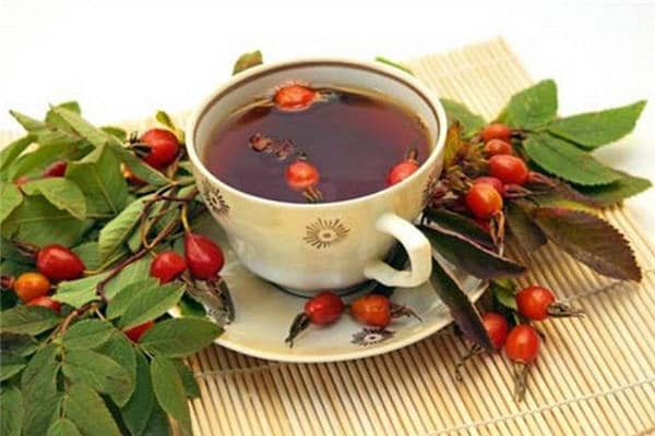 Травяной чай с шиповником