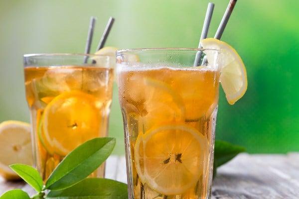 Чай со льдом по-татарски