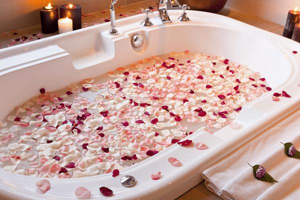 Цветочная ванна