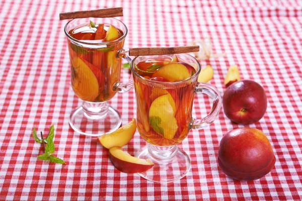 Персиковый фруктовый чай