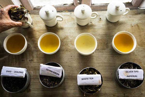 Классификация чая по типу ферментации