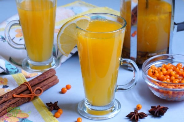 С лимоном и корицей