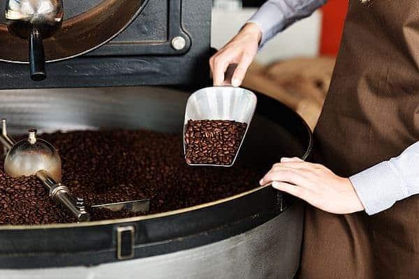Обжаривание кофейных плодов